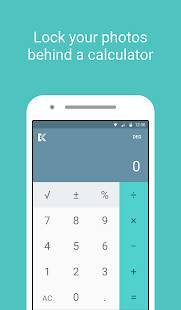 Androidアプリ「Calculator — Keep Private Photos & Videos Secret」のスクリーンショット 1枚目