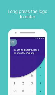 Androidアプリ「Calculator — Keep Private Photos & Videos Secret」のスクリーンショット 2枚目