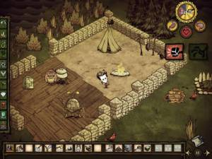 Androidアプリ「Don't Starve: Pocket Edition」のスクリーンショット 1枚目