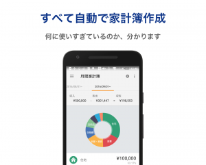 Androidアプリ「マネーフォワード for 福井銀行」のスクリーンショット 2枚目