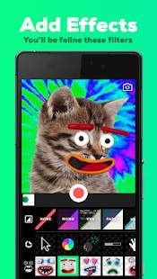 Androidアプリ「GIPHY CAM - The GIF Camera & GIF Maker」のスクリーンショット 1枚目