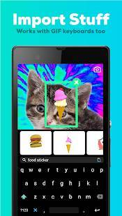 Androidアプリ「GIPHY CAM - The GIF Camera & GIF Maker」のスクリーンショット 3枚目