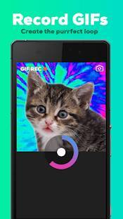 Androidアプリ「GIPHY CAM - The GIF Camera & GIF Maker」のスクリーンショット 2枚目
