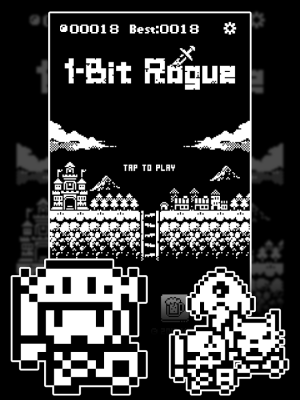Androidアプリ「1ビットローグ ダンジョン探索RPG!」のスクリーンショット 4枚目