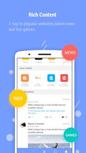 Androidアプリ「Aceブラウザ – 速い」のスクリーンショット 2枚目