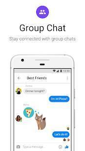 Androidアプリ「Messenger Lite:無料通話とメッセージ」のスクリーンショット 4枚目