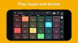 Androidアプリ「Remixlive - Remix & sample music」のスクリーンショット 1枚目