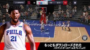 Androidアプリ「NBA LIVE バスケットボール」のスクリーンショット 1枚目