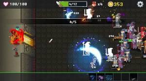 Androidアプリ「ダンジョン守る」のスクリーンショット 3枚目