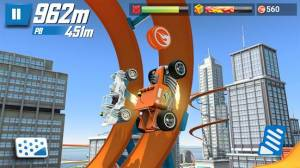 Androidアプリ「Hot Wheels: Race Off」のスクリーンショット 2枚目