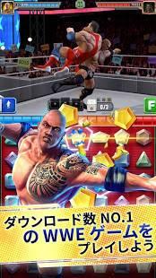 Androidアプリ「WWE Champions 2019 - 無料パズルRPGゲーム」のスクリーンショット 1枚目