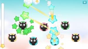 Androidアプリ「ほしくずハルモニア:リズムゲーム」のスクリーンショット 2枚目
