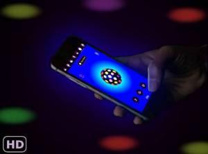 Androidアプリ「カラー懐中電灯 - ディスコライトLED 懐中電灯 アプリ」のスクリーンショット 1枚目