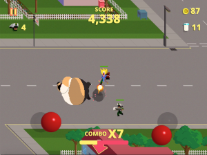 Androidアプリ「Fast Food Rampage」のスクリーンショット 4枚目