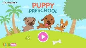 Androidアプリ「サゴミニ 子犬ようちえん」のスクリーンショット 1枚目