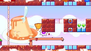 Androidアプリ「Silly Sausage: Doggy Dessert」のスクリーンショット 2枚目