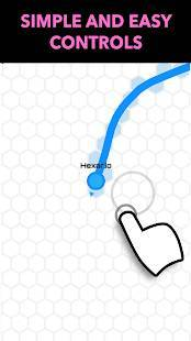 Androidアプリ「Hexar.io - io games」のスクリーンショット 3枚目