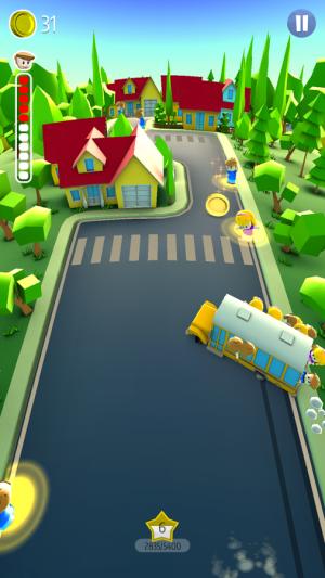 Androidアプリ「Drifting School Bus」のスクリーンショット 1枚目