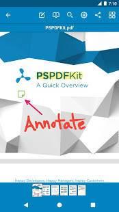 Androidアプリ「PDF Viewer - 読み込み&編集」のスクリーンショット 4枚目