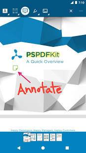 Androidアプリ「PDF Viewer - 読み込み&編集」のスクリーンショット 1枚目