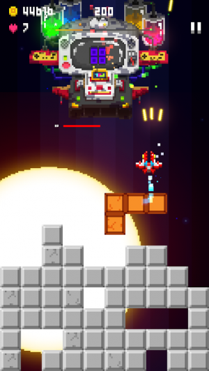 Androidアプリ「Pixel Craft - Space Shooter」のスクリーンショット 3枚目