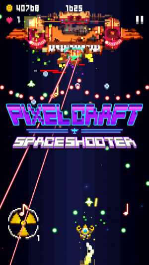 Androidアプリ「Pixel Craft - Space Shooter」のスクリーンショット 5枚目