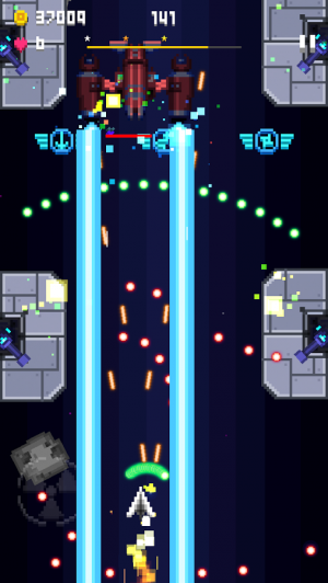 Androidアプリ「Pixel Craft - Space Shooter」のスクリーンショット 2枚目