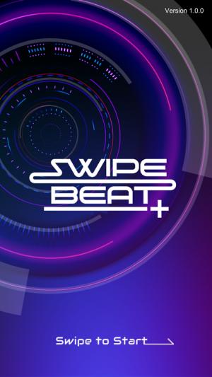 Androidアプリ「SWIPE BEAT+」のスクリーンショット 1枚目