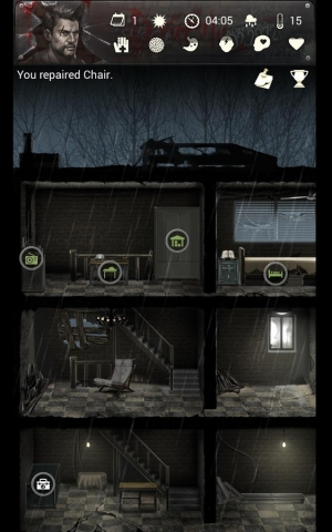 Androidアプリ「Buried Town 2 - Zombie Survival Apocalypse Game」のスクリーンショット 3枚目