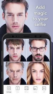 Androidアプリ「FaceApp」のスクリーンショット 1枚目