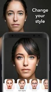 Androidアプリ「FaceApp」のスクリーンショット 4枚目