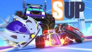 Androidアプリ「SUPマルチプレイヤーレーシング」のスクリーンショット 1枚目