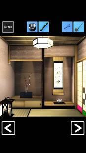 Androidアプリ「脱出ゲーム 茶室」のスクリーンショット 2枚目