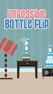 Androidアプリ「Impossible Bottle Flip」のスクリーンショット 1枚目