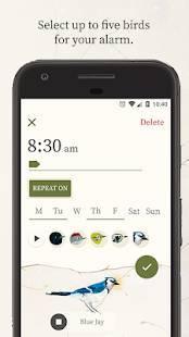 Androidアプリ「Dawn Chorus」のスクリーンショット 2枚目
