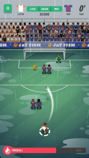 Androidアプリ「Tiny Striker: World Football」のスクリーンショット 4枚目