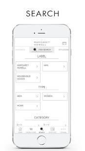 Androidアプリ「MARGARET HOWELL」のスクリーンショット 3枚目
