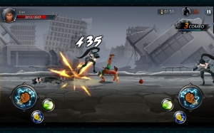 Androidアプリ「One Finger Death Punch 3D」のスクリーンショット 5枚目