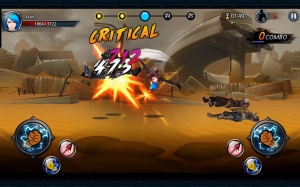 Androidアプリ「One Finger Death Punch 3D」のスクリーンショット 1枚目