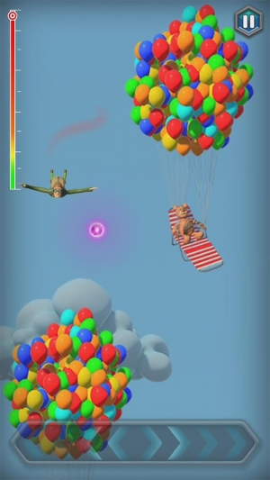Androidアプリ「Jumping Jack's Skydive」のスクリーンショット 1枚目