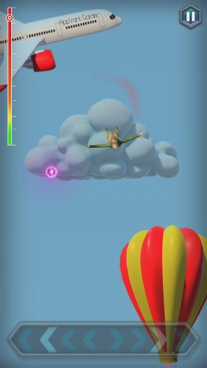 Androidアプリ「Jumping Jack's Skydive」のスクリーンショット 2枚目
