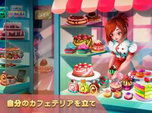 Androidアプリ「デザートチェーン: ウェイトレスカフェ」のスクリーンショット 4枚目
