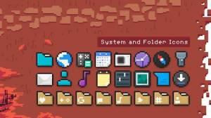 Androidアプリ「PixBit - Pixel Icon Pack」のスクリーンショット 2枚目