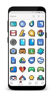Androidアプリ「PixBit - Pixel Icon Pack」のスクリーンショット 4枚目