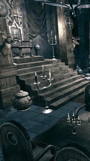 Androidアプリ「脱出ゲーム 孤城からの脱出」のスクリーンショット 1枚目
