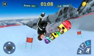 Androidアプリ「Snowboard Master 3D」のスクリーンショット 2枚目