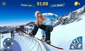 Androidアプリ「Snowboard Master 3D」のスクリーンショット 5枚目