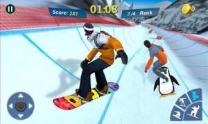 Androidアプリ「Snowboard Master 3D」のスクリーンショット 1枚目