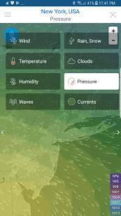 Androidアプリ「天気 予報」のスクリーンショット 3枚目