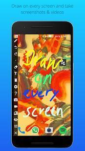 Androidアプリ「Screen Draw Screenshot Pro」のスクリーンショット 1枚目
